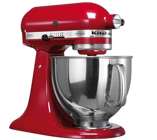recensione robot da cucina kitchenaid artisan 5ksm150pseer. Black Bedroom Furniture Sets. Home Design Ideas