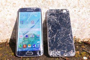 Test di caduta tra Galaxy S6 Edge e Iphone 6 (VIDEO)