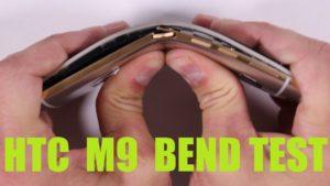 Test HTC One M9 per graffi, fuoco, piegamento (VIDEO)