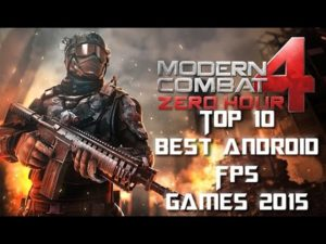 I migliori giochi sparatutto per Android del 2015  (VIDEO)