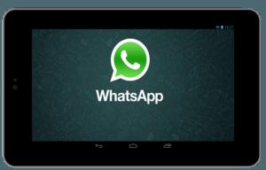 Come installare e usare Whatsapp senza scheda Sim e numero di telefono su Tablet