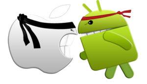 Android doppia IOS sul numero di applicazioni scaricate