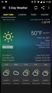 meteo android 5