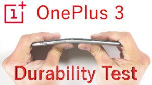 Oneplus 3 sottoposto a test di resistenza ecco come è andata (video)