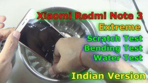 Xiaomi Redmi Note 3 sottoposto a Crash test (video)