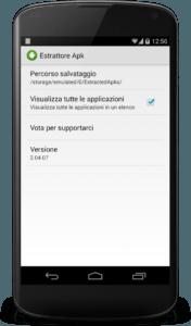 Come estrarre il file APK di una applicazione per Android 4