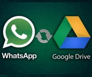 Come fare il Backup di Whatsapp con Google Drive e in locale