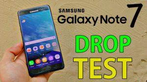Samsung Galaxy Note 7 Test di caduta guarda il video