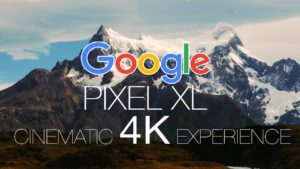 Google Pixel XL ecco come viene girato un video in 4K