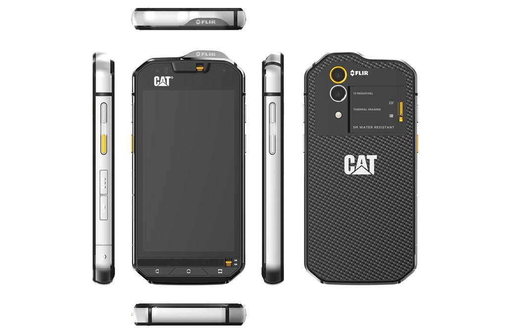 recensione CAT S60 dettagli lati