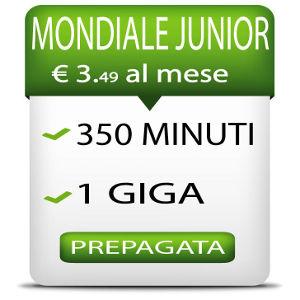 Rabona Mobile offre 350 minuti e 1 GB di connessione internet con la nuova economica offerta Mondiale Junior