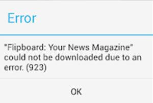 Come risolvere l'errore 923 Android causato dal Google Play Store [GUIDA]