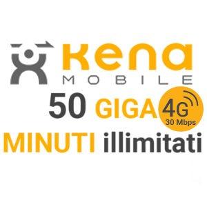 Kena Star 5 la nuova offerta di Kena Mobile contro Iliad con minuti illimitati e 50 GB a 5 Euro/mese